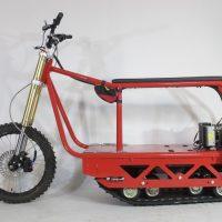 Электрический вездеход_сноубайк_electric atv_tracked vehicle_snowbike_3