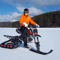 Snowbike_snowbike KIT_motosnowbike_timbersled_mototrax_yetisnowmx_polaris snowbike_Track for motorcycle_Sniejik_monotrack_26