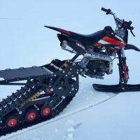 Snowbike_snowbike KIT_motosnowbike_timbersled_mototrax_yetisnowmx_polaris snowbike_Track for motorcycle_Sniejik_monotrack_27