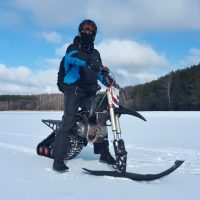 Snowbike_snowbike KIT_motosnowbike_timbersled_mototrax_yetisnowmx_polaris snowbike_Track for motorcycle_Sniejik_monotrack_29