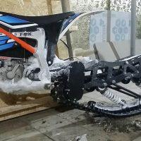 KTM Freeride electric snowbike_electric snowmobile_snowbike kit for KTM Freeride_8