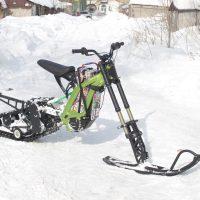 Surron X snowbike_electric snowbike_sur ron snowbike kit_Surron storm_1