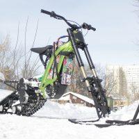 Surron X snowbike_electric snowbike_sur ron snowbike kit_Surron storm_15