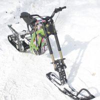 Surron X snowbike_electric snowbike_sur ron snowbike kit_Surron storm_16