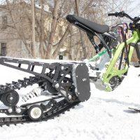 Surron X snowbike_electric snowbike_sur ron snowbike kit_Surron storm_17