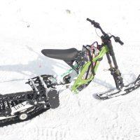 Surron X snowbike_electric snowbike_sur ron snowbike kit_Surron storm_4