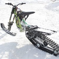 Surron X snowbike_electric snowbike_sur ron snowbike kit_Surron storm_9