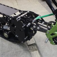 Surron snowbike_sur ron snowbike kit_Surron snowmobile kit_Surron tracked chassis_Суррон сноубайк_3