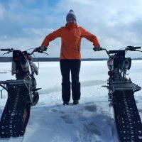 Snowbike_snowbike KIT_motosnowbike_timbersled_mototrax_yetisnowmx_polaris snowbike_Track for motorcycle_Sniejik_monotrack_28