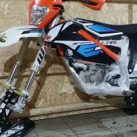 KTM Freeride electric snowbike_electric snowmobile_snowbike kit for KTM Freeride_10