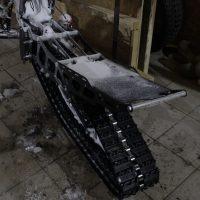KTM Freeride electric snowbike_electric snowmobile_snowbike kit for KTM Freeride_5