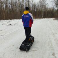 Electric moto snowboard_Electric snowboard_electric powerboard_electric snowmobile_electric snowscooter_electric snowbike_1
