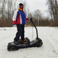Electric moto snowboard_Electric snowboard_electric powerboard_electric snowmobile_electric snowscooter_electric snowbike_2