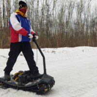 Electric moto snowboard_Electric snowboard_electric powerboard_electric snowmobile_electric snowscooter_electric snowbike_3