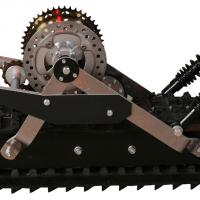 Snowbike kit_snowmobile kit_conversion kit for Dirtbike_tracked chassis_monotrack_sniejik_3