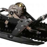 Snowbike kit_snowmobile kit_conversion kit for Dirtbike_tracked chassis_monotrack_sniejik_4