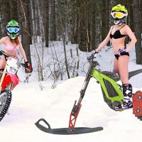 Sur-ron_snowbike_snowbikekit on surron_electric snowbike surron_2