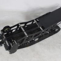 snowbike kit for ET Time moto_snowmobile kit for electric motorcycle_tracked kit_ET Time snowbike_5