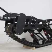 snowbike kit for ET Time moto_snowmobile kit for electric motorcycle_tracked kit_ET Time snowbike_8